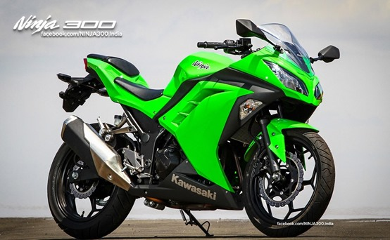 Auto Choice: Kawasaki Launched Ninja 300 at Rs 3 5 Lakhs