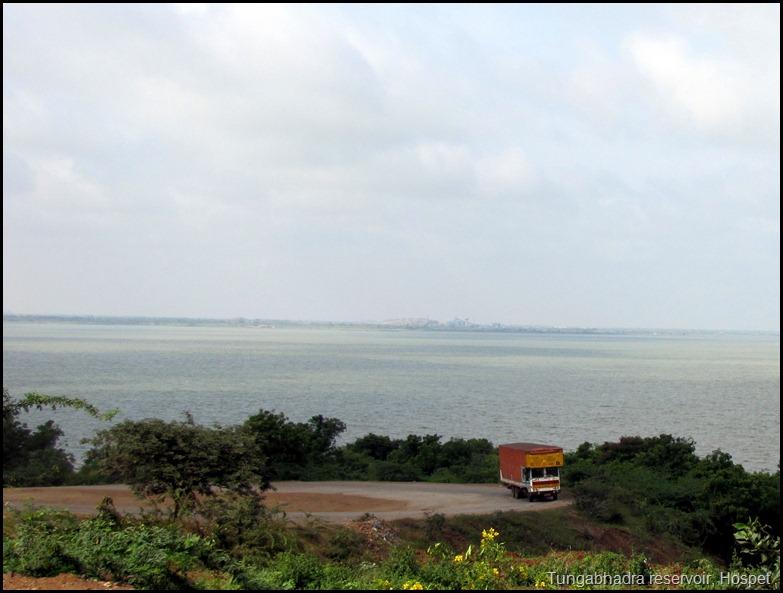 Tungabhadra reservoir, Hospet