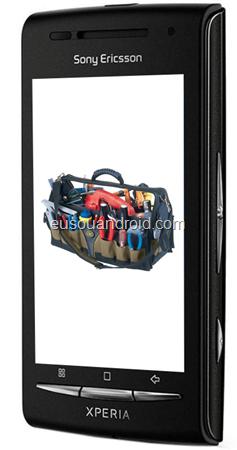 Xperia X8 toolbox
