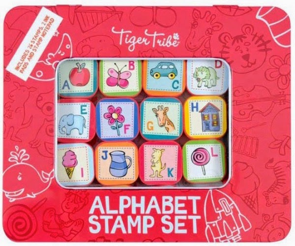Tiger Tribe Alphabet Stamp set