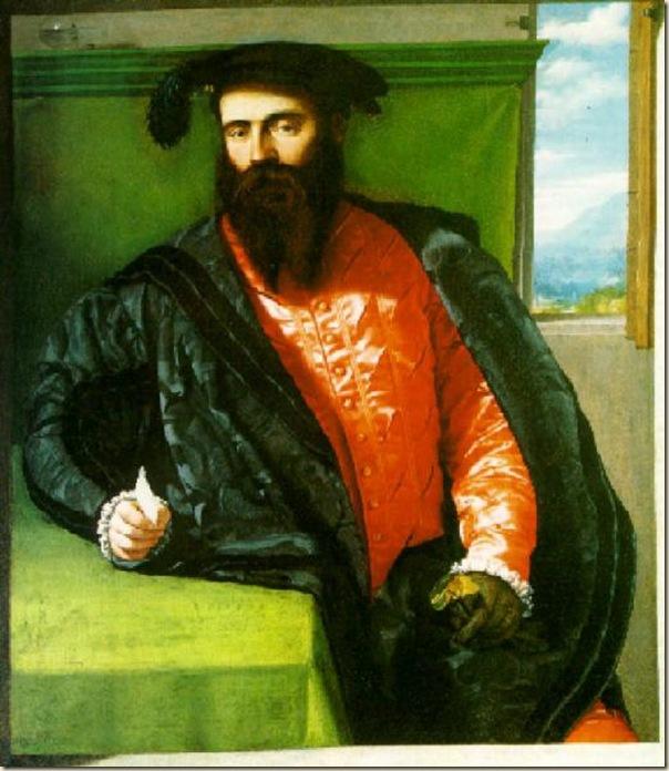 Moretto, Portrait de Gentilhomme