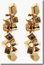 Karen Millen Cluster Drop Earrings