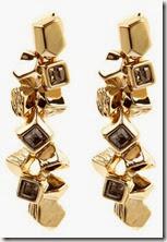Karen Millen Cluster Drop Earrings