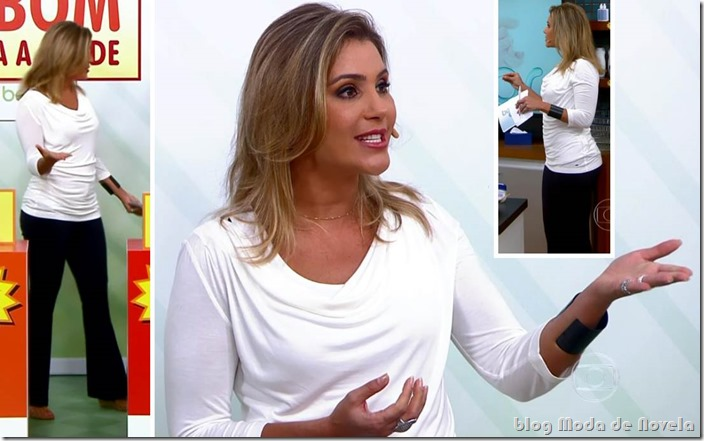 moda do programa bem estar - flávia freire no dia 30 de setembro de 2013
