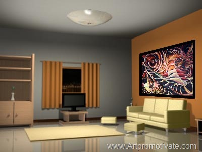 painting wall room photoshop