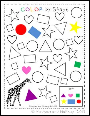 Giraffe Printables 5