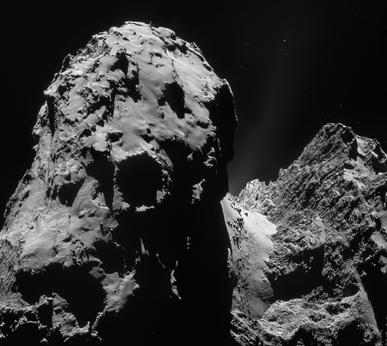 desfiladeiro em cometa