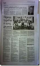 The Filipino Choir 2011