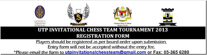 UTP Invitational Chess Team Tournament 2013 logo