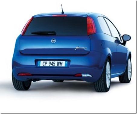 Fiat Grande Punto rear view