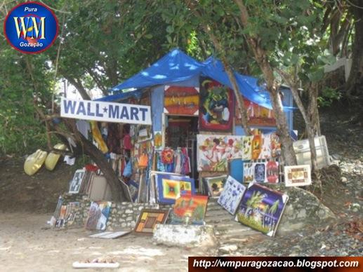 FLAGRANTE - WALL MART INAUGURA NOVA FILIAL NA REPÚBLICA DOMINICANA