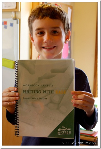 our aussie homeschool ~ Writing With Ease