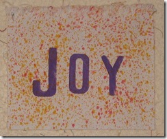 Joy splatter