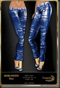 DANIELLE Mims Pants Blue'
