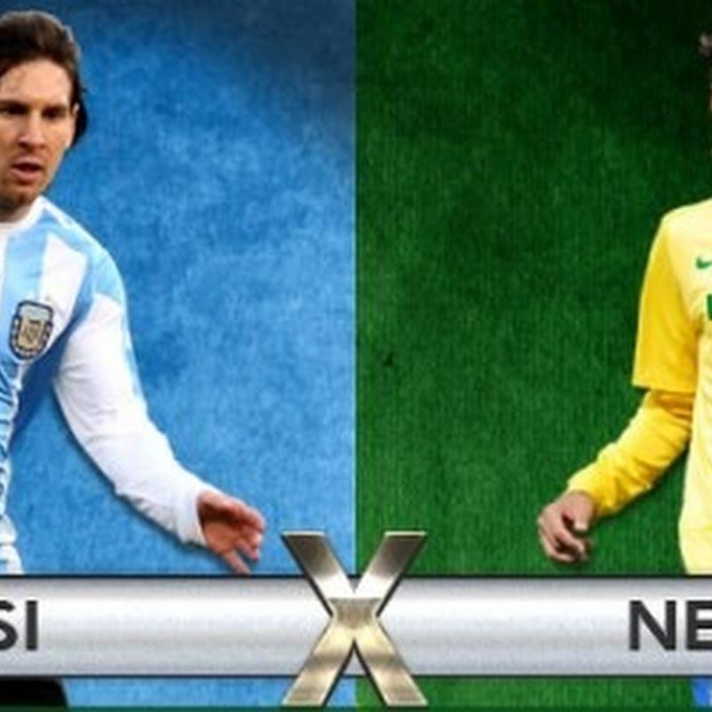 Neymar X Messi, reedição do duelo Pelé X Eusébio