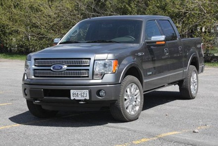 2011 ford f 150 supercrew ecoboost test drive auto trend. Black Bedroom Furniture Sets. Home Design Ideas
