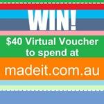 WIN $40 VV madeit.com.au