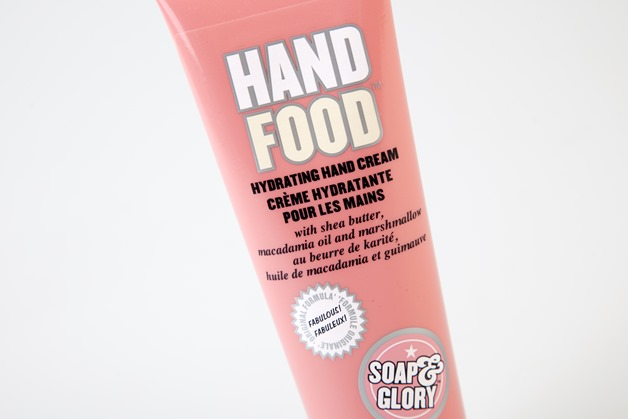 soap & glory hand food hand cream review