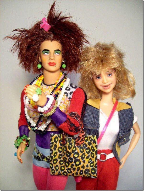 Bonecas da Valéria e Janete