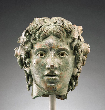 Head of the young Bacchus