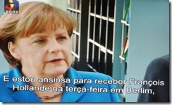 Reunião  Hollande - Ângela Merkel.Mai2012