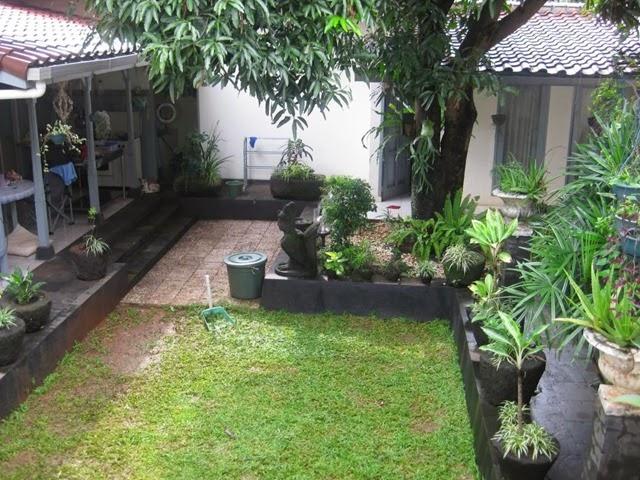 Jasa Tukang Taman Kalimantan taman minimalis depan rumah 2016