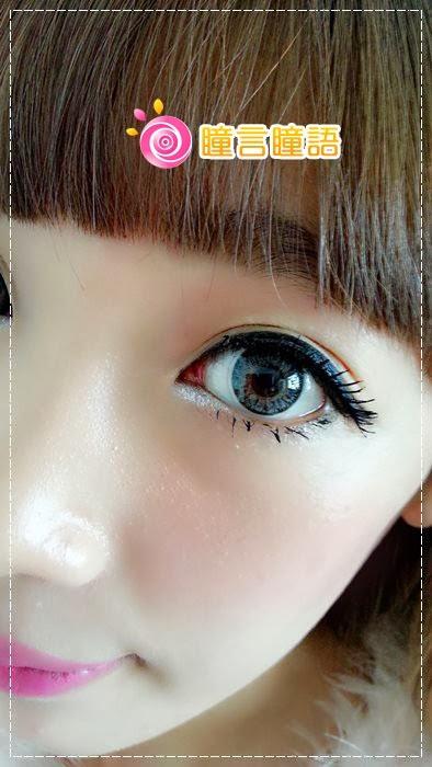 韓國GEO隱形眼鏡-GEO Eyes Cream 霜淇淋灰8