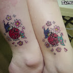 butterfly friendship - tattoos ideas