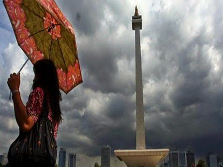 Sebagian Wilayah DKI Jakarta diguyur Hujan