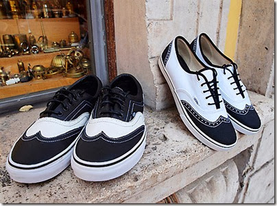 Vans Era lo pro and Authentic lo Pro Wingtip Oxford Sneakers Summer 2011