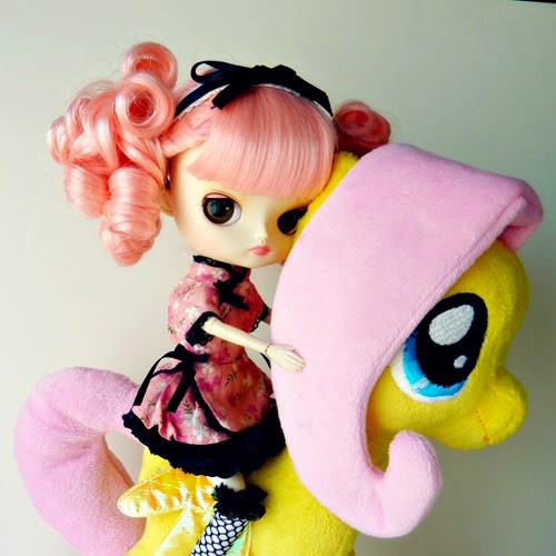 Chibiusa (Dal Magical Pink Chan) y Fluttershy