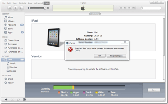 Fix For iOS 5 Upgrade Errors 3002 and 3200