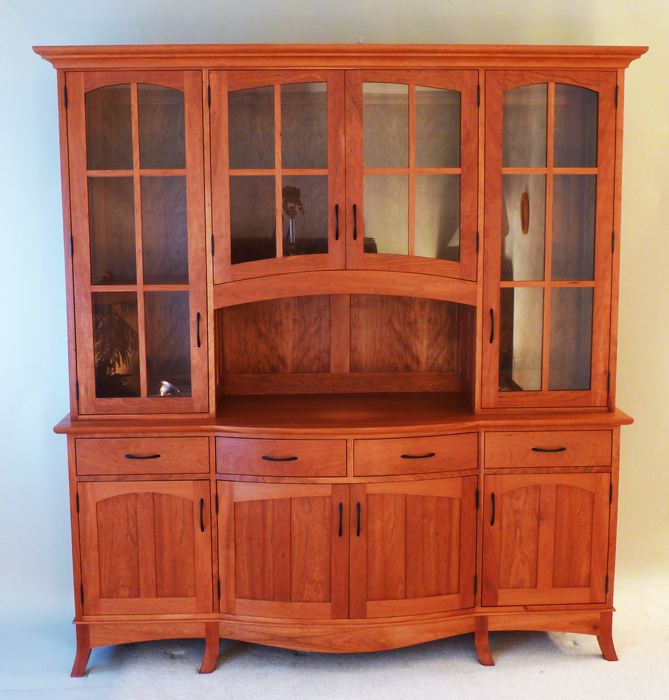... A Traditional China Cabinet With A Shaker Style ...