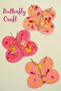 Spring Art With Fresh Flowers from Fantastic Fun and Learning