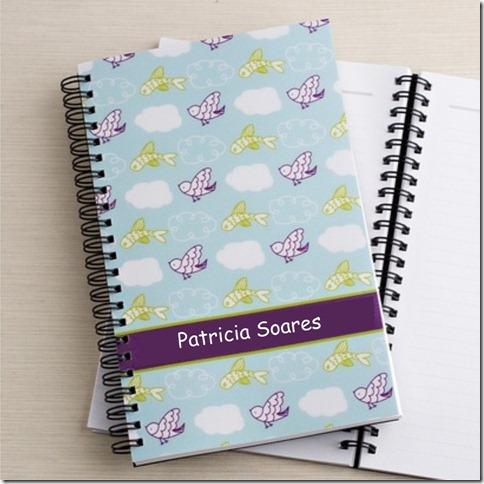 bloco de notas Patricia