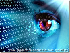 Stream of digital data and eye