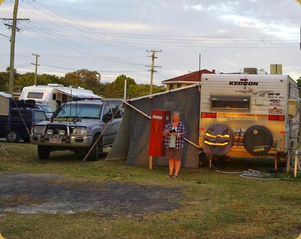 Bongaree Caravan Park, Bribie Island 2013