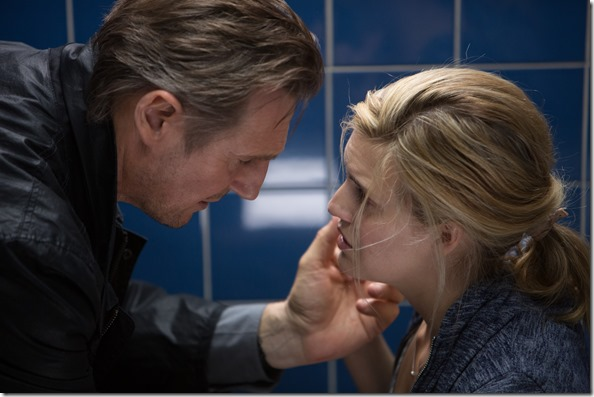 liam neeson and maggie grace in TAKEN3