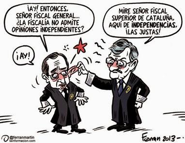 Torres-Dulce fiscalía cataluña