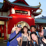 at enoshima beach station with team Jager9 in Fujisawa, Kanagawa, Japan
