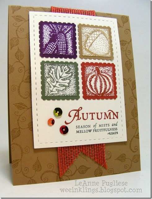 LeAnne Pugliese WeeInklings Paper Players 213 Autumn Keats