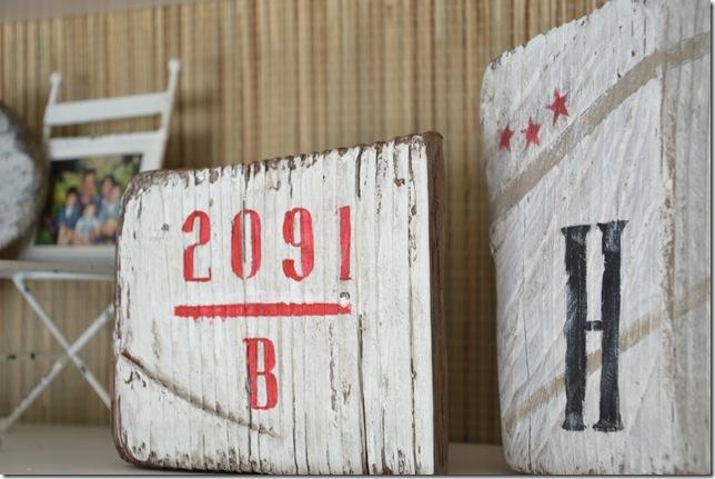 dock number wood
