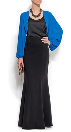 Pleated Sleeves Bolero1