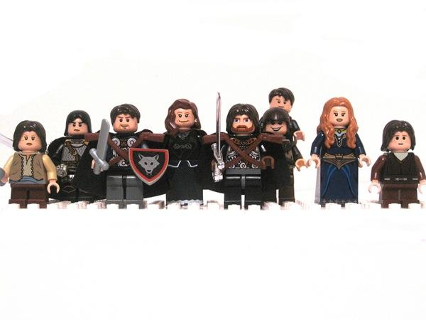 Una Canción de Hielo y Lego