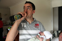 Beer and baby = bonus!