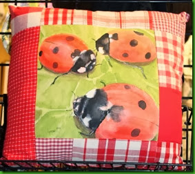 46-ladybug pillow