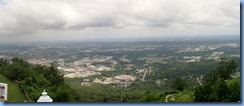 8805a Lookout Mountain, Tennessee - Incline Railway - at the top - the view Stitch