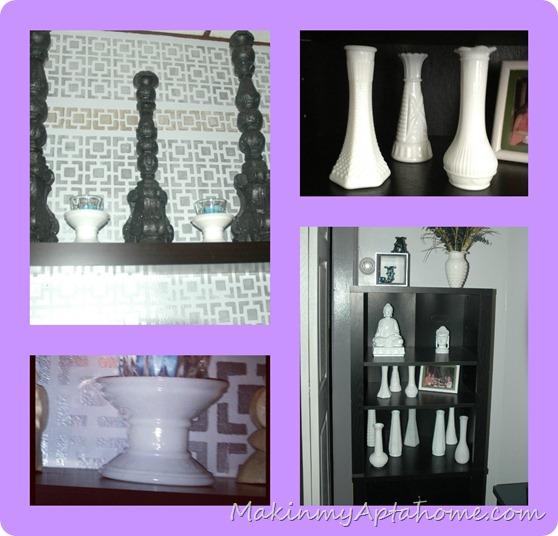 white milk glass livingroom