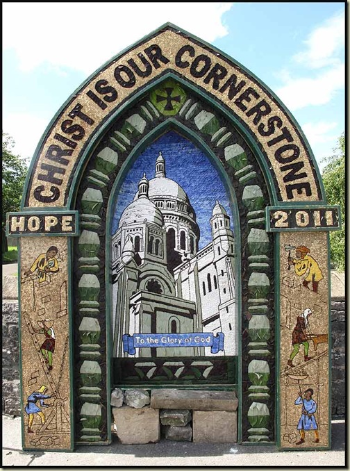 Well Dressing at Hope