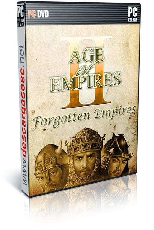 Age of Empires II HD The Forgotten-RELOADED-pc-cover-box-art-www.descargasesc.net